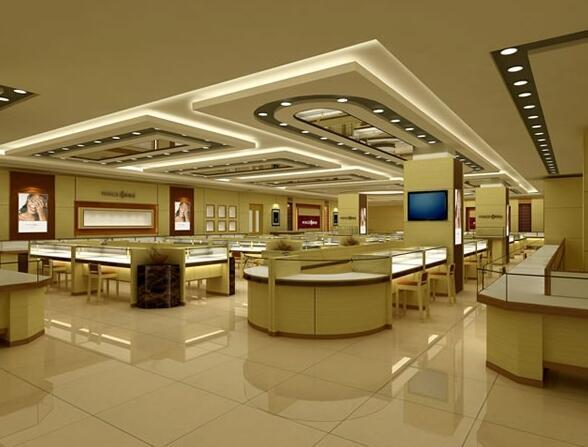 黄金珠宝柜台